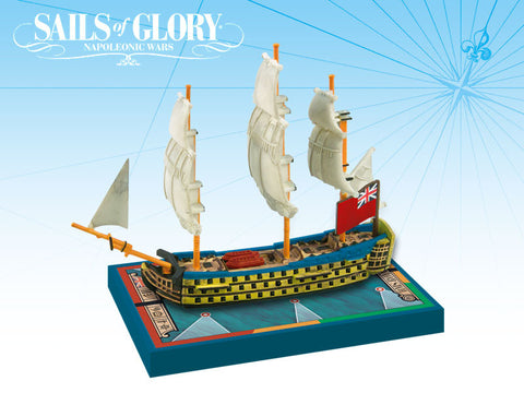 HMS Royal George / Hibernia - Sails of Glory Miniature Ship Pack - SGN108B