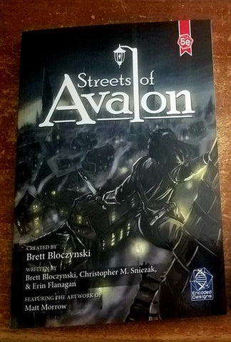 Streets of Avalon - City Supplement for 5e 5th Edition DnD