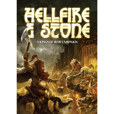 Hellfire and Stone - Campaign book for Kings of War