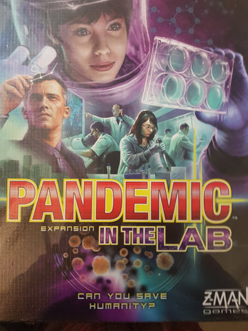 In The Lab: Pandemic Expansion - 2nd Ed.