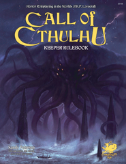 Call of Cthulhu: Keeper Rulebook - 7th Ed