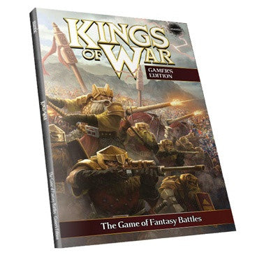 Kings of War 2nd Edition Gamer's Rulebook