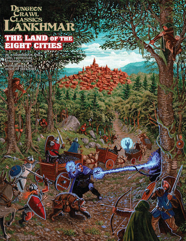 Land of the Eight Cities - Sourcebook & 3rd Level Adventure - DCC Lankhmar