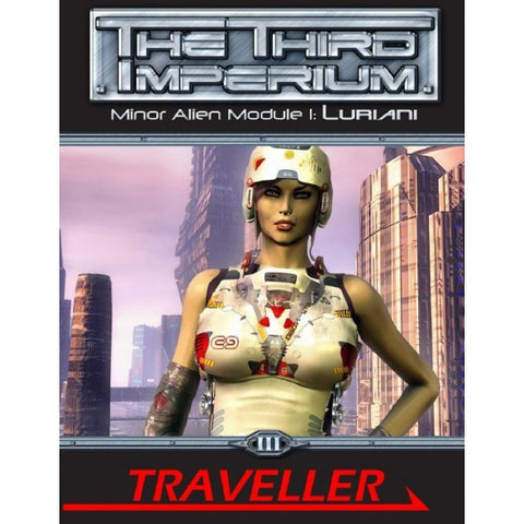 Minor Alien Module 1: Luriani - Traveller Third Imperium
