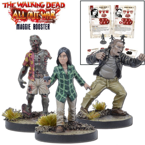 Maggie Booster Pack - Walking Dead