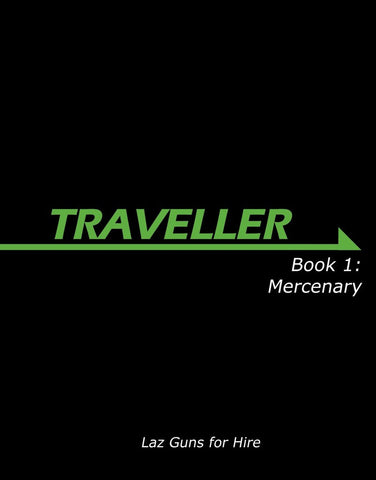 Traveller Book 1: Mercenary