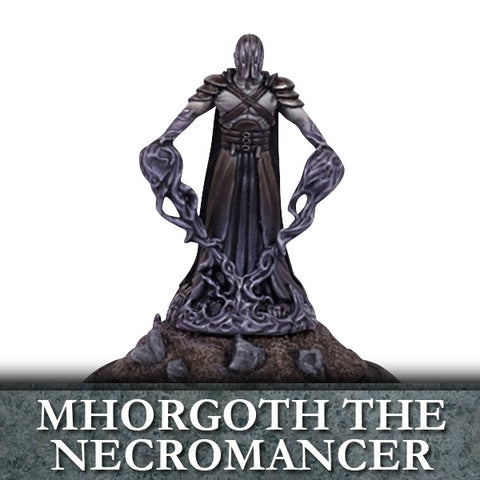 Mhorgoth the Necromancer - Kings of War (Undead)