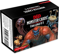 Monster Cards: Challenge 0–5: Dungeons and Dragons 5e 5th Edition