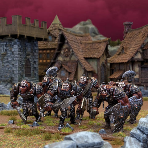 Ogre Warriors (6) - Kings of War