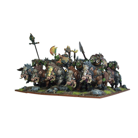 Orc Mega Army - Garlak's Barbarous Hoard - Kings of War