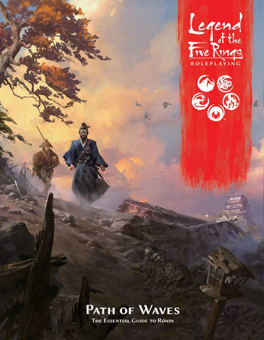 Path of Waves: Legend of the Five Rings Sourcebook - L5R