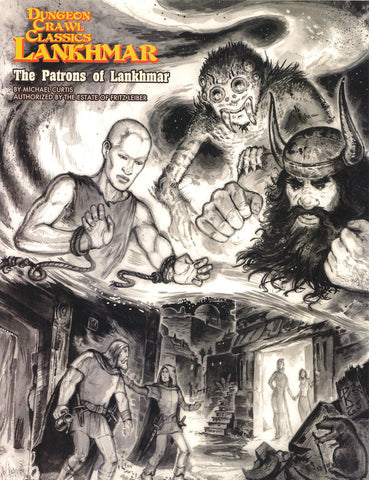 The Patrons of Lankhmar - DCC Lankhmar