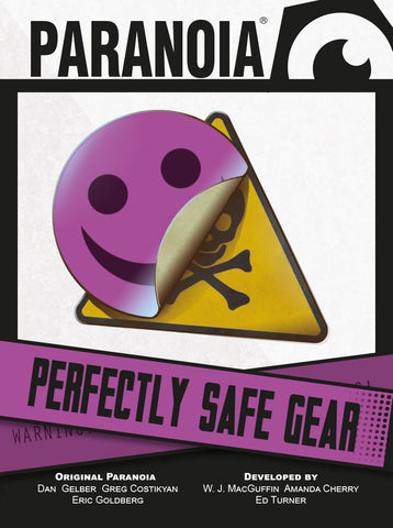 Paranoia - Perfectly Safe Gear
