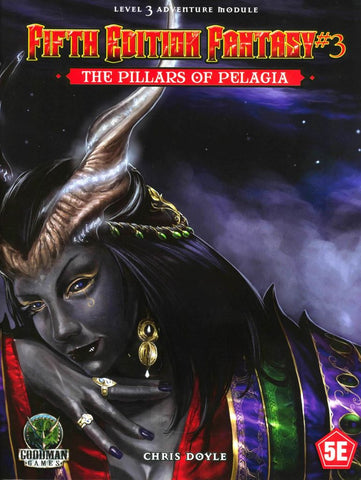 The Pillars of Pelagia - 5th Edition Fantasy #3 - 5e (with PDF)