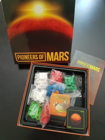 Pioneers of Mars - A Boardgame of Martian settlement