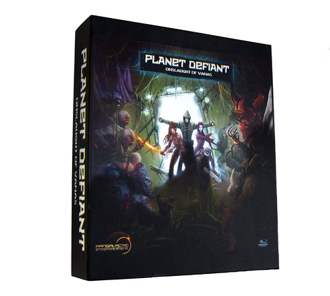 Planet Defiant: Onslaught - Board Game for 1-8 Players