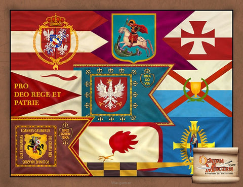 Polish Commonwealth Banners - By Fire and Sword