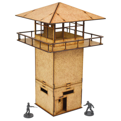 Prison Tower - MDF Scenery for The Walking Dead, or other games