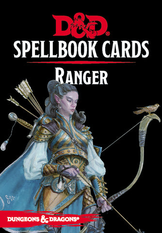 Ranger Spell Deck (revised): Dungeons and Dragons 5e 5th Edition