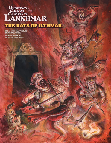 The Rats of Ilthmar - 3rd level adventure - DCC Lankhmar #11