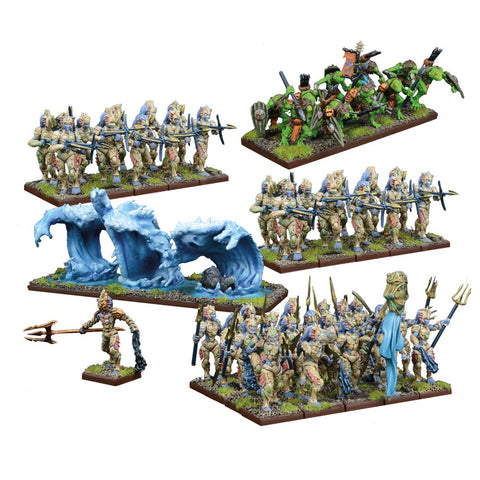 Trident Realms of Nertica Army - Kings of War
