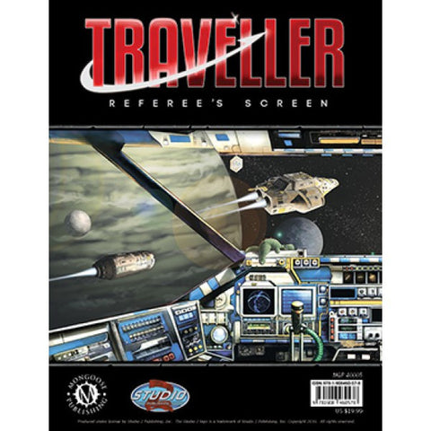 Traveller Referee's Screen - Mongoose - MGP40005