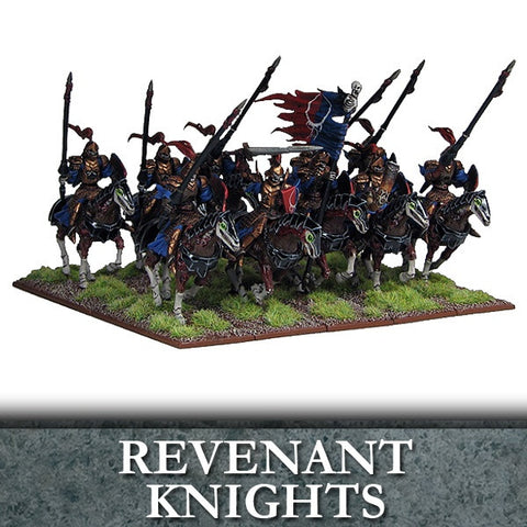 Undead Revenant Knights/Cavalry - Kings of War