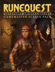 GM Screen : Runequest - Roleplaying in Glorantha