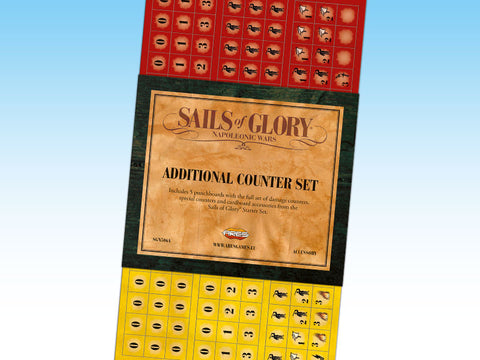 Sails of Glory - Additional Counter Set