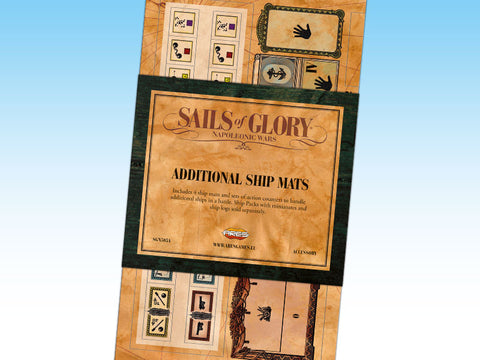 Sails of Glory - Additional Ship Mats - SGN505A