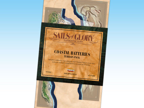 Sails of Glory Terrain Pack - Coastal Batteries - SGN503A