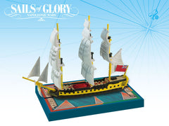 HMS Impetueux / Spartiate - Sails of Glory  MiniatureShip Pack