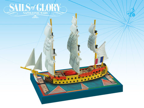 Le Berwick / Le Swiftsure - Sails of Glory Ship Pack - SGN104A