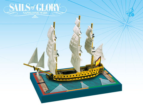 San Juan Nepomuceno/San Francisco de Asis - Sails of Glory Ship Pack - SGN112A
