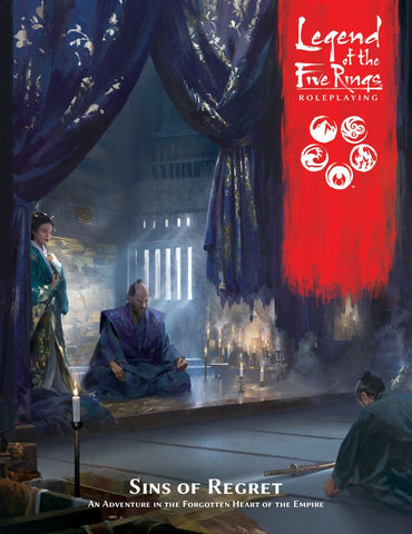 Sins of Regret: Legend of the Five Rings Adventure- L5R