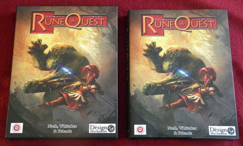 RuneQuest - 6th Edition Hardback