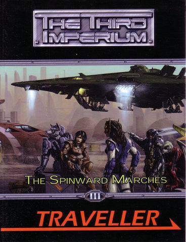 The Spinward Marches - Traveller Third Imperium
