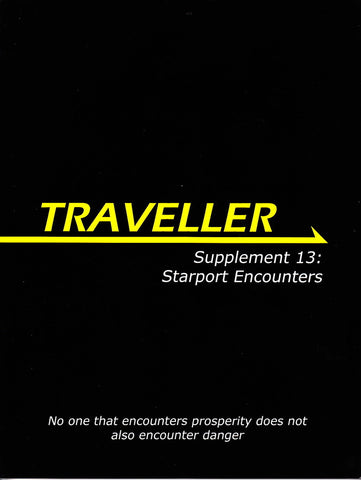 Traveller Supplement 13: Starport Encounters