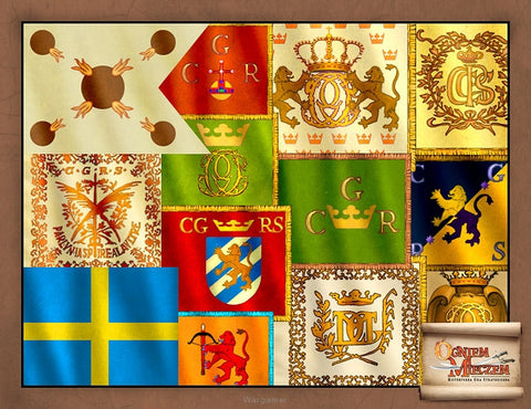 Swedish Banners - By Fire and Sword