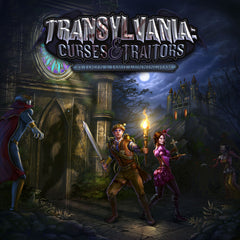 Transylvania - Curses and Traitors - Horror and Monster Board Game