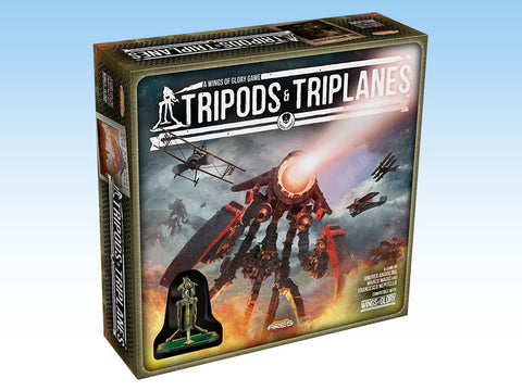 Wings of Glory Tripods and Triplanes - Starter Box