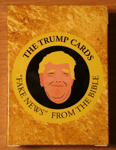 "Trump Cards: ""Fake News"" from the Bible - Limited Edition Expansion for A Game for Good Christians"
