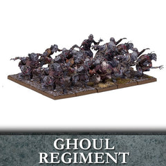 Undead Ghoul Regiment - Kings of War