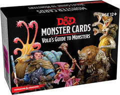 Volo's Guide to Monsters Deck: Dungeons and Dragons 5e 5th Edition