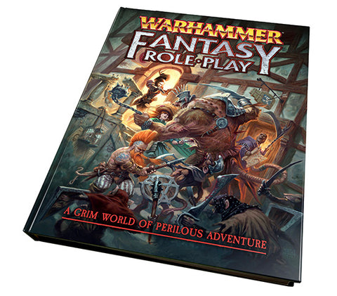 Warhammer Fantasy Roleplay 4th Edition Rulebook WFRP4