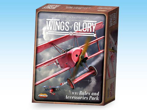 Wings of Glory - WW1 Rule and Accessories Pack