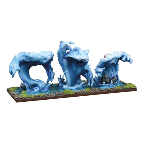 Trident Realms Water Elemental Regiment - Kings of War