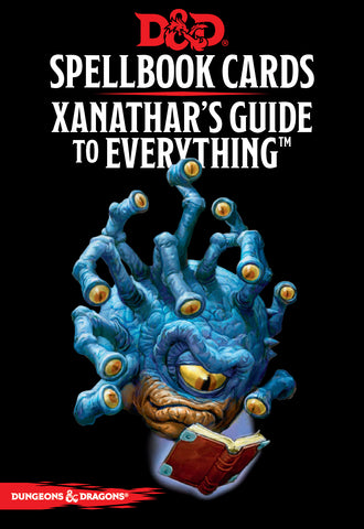 Xanathar's Guide to Everything Spell Deck (revised): Dungeons and Dragons 5e