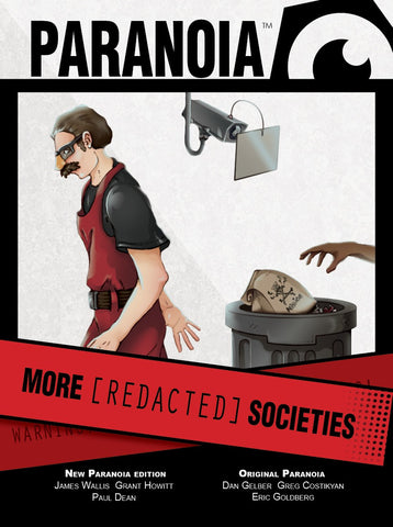 Paranoia - More [REDACTED] Societies