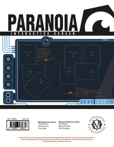 Paranoia Interactive Screen